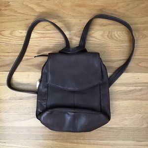 Tignanello leather backpack New Condition